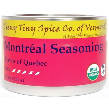 Teeny Tiny Spice Co of Vermont Organic Montréal Seaoning, 2.8 Oz