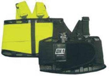 OK-1 OK-250S-S Back Support, Open Mesh, Black,S