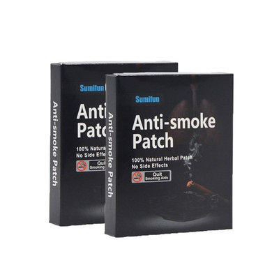 Sumifun Nicotine Patches, Anti-Smoking Patch Natural Ingredients & Smoke Patch for Smoking Cessation 35 Patches/Box