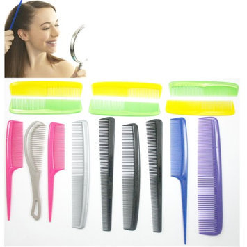 Alltopbargains 15 Pc Professional Comb Set Hairdressing Styling Salon Barber Set Hairdresser!