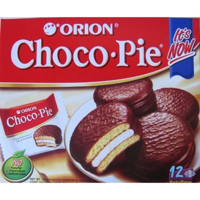 Orion Choco Pie, 0.99-ounce Units (Pack of 36)