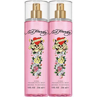Ed Hardy Fine Fragrance Mist, 8 fl oz, 2 count