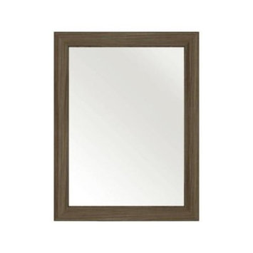Cutler Kitchen and Bath 30 in. L x 23 in. W Framed Wall Mirror in Driftwood