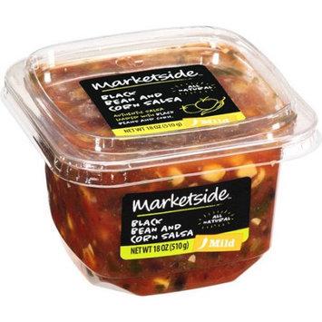 Manufactured For Marketside, A Division Of Walmart Stores, Inc. Marketside Black Bean And Corn Mild Salsa, 18 oz