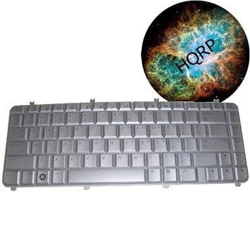 HQRP Replacement Laptop Keyboard for HP Pavilion DV5-1000 / DV5-1100 Series