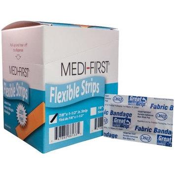 MEDI-FIRST Brand Flexible Strips Adhesive Bandages, 400-Pk