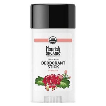 Nourish Organic Fresh & Dry Deodorant Stick Geranium - 2.2 oz