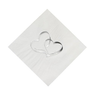 Fun Express Two Hearts Luncheon Napkins (50 pc)