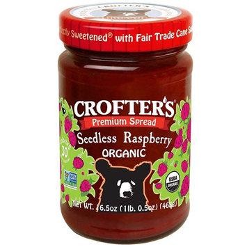 Crofter's Organic, Organic Premium Spread, Seedless Raspberry, 16.5 oz (Pack of 2)