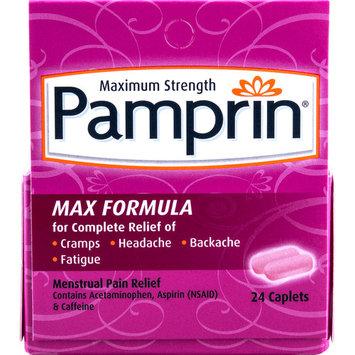 Pamprin Maximum Strength Max Formula Menstrual Pain Relief Caplets 24 ct