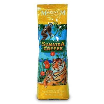 Magnum Sumatra Mandheling Coffee, Ground, 1 Lb Bag