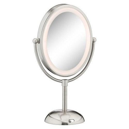 Conair Satin Nickel LED Cosmetic Mirror
