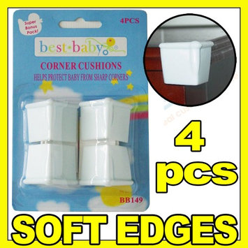 Best Baby 4 Corner Cushions Baby Edge Protector Safety Desk Table Softener Glass Kid Child
