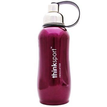 Thinksport Stainless Steel Sports Bottle - Purple - 25 oz