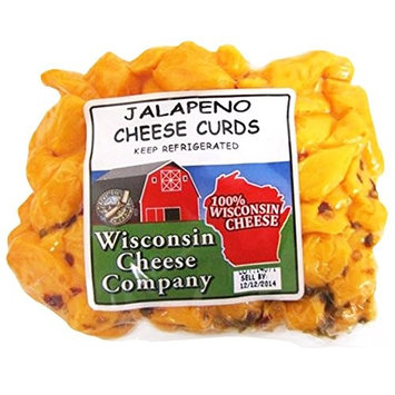 Wisconsin Cheese Company Curds Jalapeno, 12 Ounce (Pack of 12)