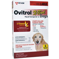 Ovitrol X-Tend Flea & Tick Spot On for Large Dogs (56-80 lbs) [Options : 3 MONTH]