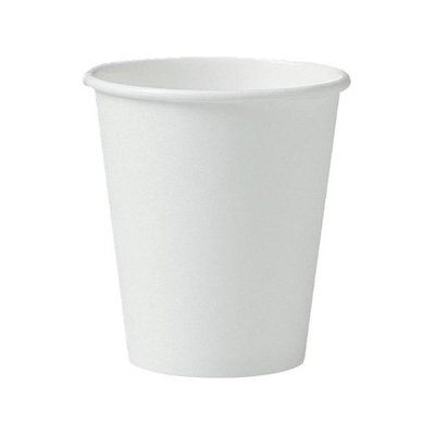 Solo Inc. Paper Cups Solo Polycoated Hot, 6 oz, White, 50/Bag