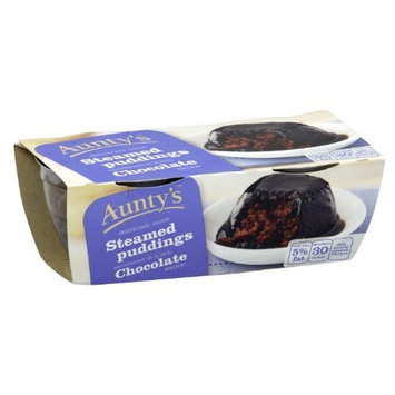 Auntys Chocolate Steamed Pudding