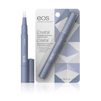 eos Crystal Plus Liquid Lip Balm, Hydration Boosting with 100% Natural Oils, 0.06 fl.oz.