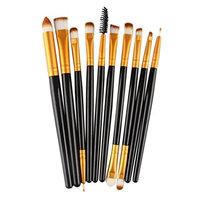 Inkach Makeup Brush Sets - 10pcs Make Up Brushes Face Blush Eye Shadow Cosmetic Brushes Kit Tools