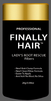Finally Hair Root Concealer, Cover Grey, Ladies Root Rescue
