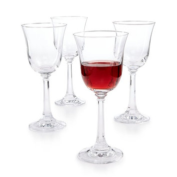 CLOSEOUT! Martha Stewart Collection Set of 4 Goblets, Created for Macy's