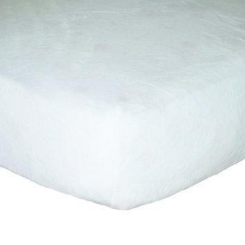 Go Mama Go Minky Crib Sheet Color: White