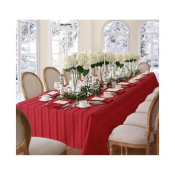Denley Stripe Red Table Linen Collection
