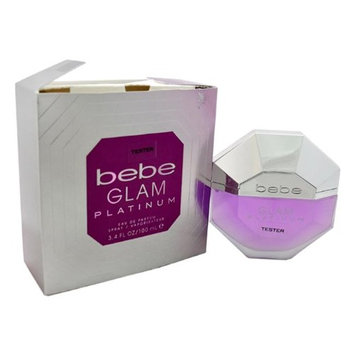 Bebe W-T-2693 3.4 oz Bebe Glam Platinum EDP Spray for Women