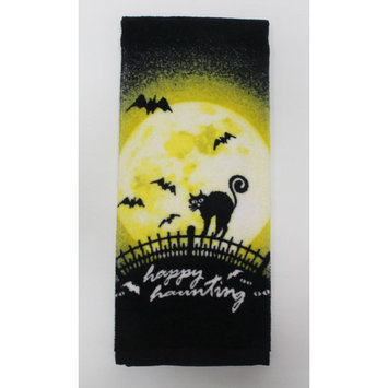 Totally Ghoul 1-Pack Velour Kitchen Towel - Cat