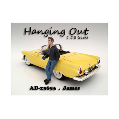 American Diorama 23853 Hanging Out James Figure for 1-18 Scale Models