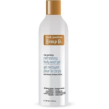 North American Hemp Company Body Wash Refreshing Gel, 11.56 Fluid Ounce