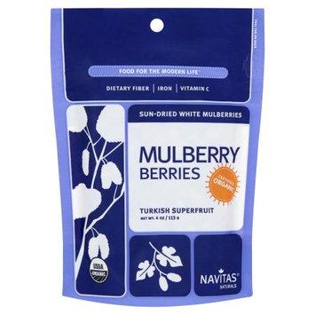 Navitas Naturals Navitas, Mulberries Org, 4 Oz (Pack Of 12)