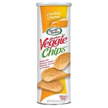 Sensible Portions Garden Veggie Chips Cheddar Cheese, 5.0 OZ