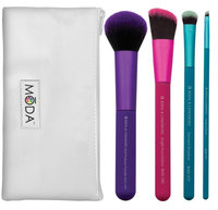 Royal and Langnickel Moda Pro Makeup Brushes Complete Kit, 5 count