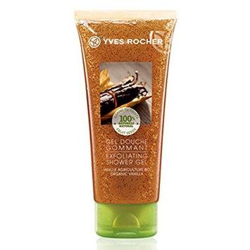 Yves Rocher Exfoliating Shower Gel Organic Vanilla 6.7 oz