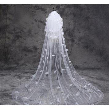 Exquisite Selebrity 3t 3tier Bridal Wedding Veil with Comb