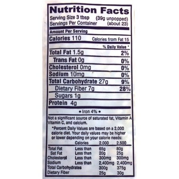 Snappy White Popcorn Kernels (4 - 2 Lb. Bags)
