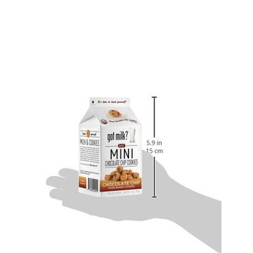 got milk? Mini Chocolate Chip Cookies, 3 Ounce (Pack of 6)