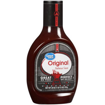 Wal-mart Stores, Inc. Great Valueâ ¢ Original Barbecue Sauce 28 oz. Bottle