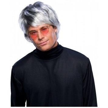 Grey Pop Star Wig Adult Costume Accessory