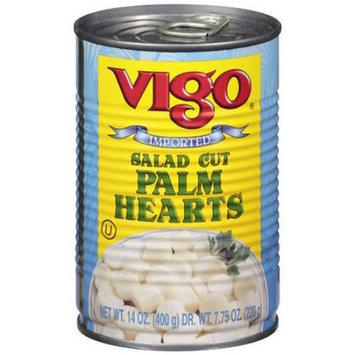Vigo 75907 Salad Cut Palm Hearts - 14 oz.