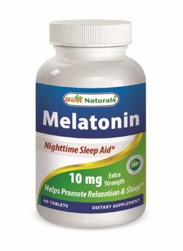 Best Naturals Melatonin 10mg 60 Tablets