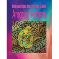 Createspace Publishing Grown Ups Coloring Book Amazing Patterns