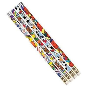 Musgrave Pencil Co Inc MUSPSPRTD Sport Pizzazz Assortment 12Pk Pencils