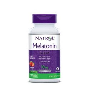 Natrol Melatonin Fast Dissolve 10mg, 75CT