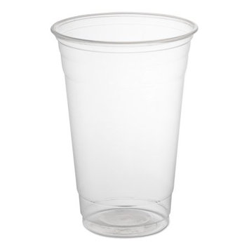 Dart Fusion Polypropylene Cups, Cold Cups, 20 oz, Clear, 50/Bag, 12 Bags/Carton