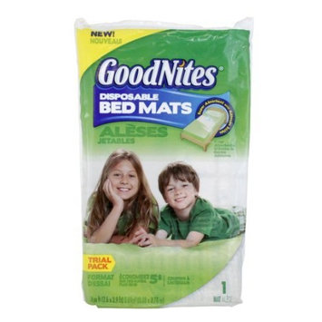 GoodNites Disposable Bed Mats 40-Pack