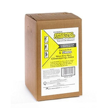 Cotto-Waxo HP-30 No-Dust-O Home-Pack Sweeping Compound, 30 lbs Size