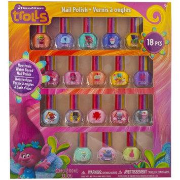 Townley Inc Beauty Accessories - Trolls - 18pk Nail Polish New TD0070SA